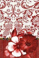 Red Flower Damask af Express Yourself Journals
