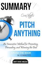 Summary Oren Klaff's Pitch Anything