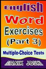 English Word Exercises (Part 3)