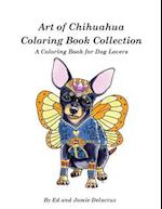 Art of Chihuahua Coloring Book Collection