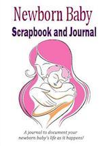 Newborn Baby Scrapbook and Journal