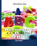 Alphabet Coloring and Tracing