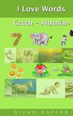 I Love Words Czech - Albanian