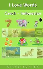 I Love Words Czech - Indonesian