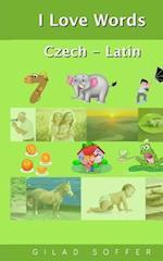 I Love Words Czech - Latin