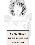 Jim Morrison Inspired Coloring Book