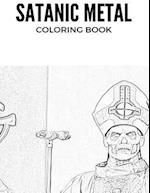 Satanic Metal Coloring Book