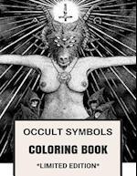 Occult Symbols Coloring Book