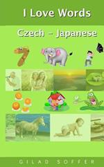 I Love Words Czech - Japanese