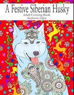 A Festive Siberian Husky