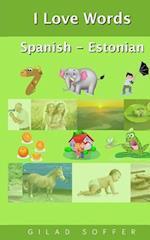 I Love Words Spanish - Estonian
