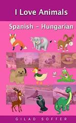 I Love Animals Spanish - Hungarian