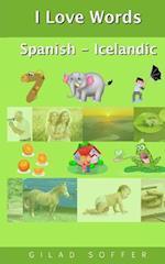 I Love Words Spanish - Icelandic