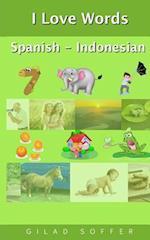 I Love Words Spanish - Indonesian