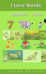 I Love Words Spanish - Latin
