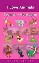 I Love Animals Spanish - Norwegian