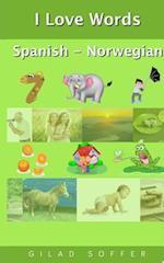 I Love Words Spanish - Norwegian