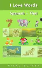 I Love Words Spanish - Thai