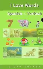 I Love Words Spanish - Turkish