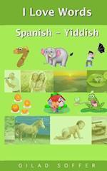 I Love Words Spanish - Yiddish