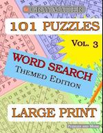 Large Print Word Search Puzzles - Volume 3