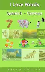 I Love Words Spanish - German