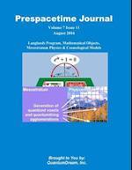 Prespacetime Journal Volume 7 Issue 11