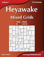 Heyawake Mixed Grids - Easy to Hard - Volume 7 - 276 Logic Puzzles