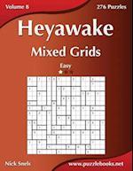 Heyawake Mixed Grids - Easy - Volume 8 - 276 Logic Puzzles