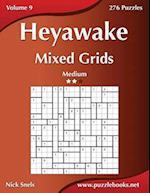 Heyawake Mixed Grids - Medium - Volume 9 - 276 Logic Puzzles
