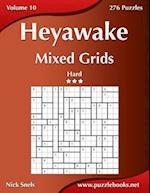 Heyawake Mixed Grids - Hard - Volume 10 - 276 Logic Puzzles