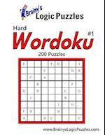 Brainy's Logic Puzzles Hard Wordoku #1 200 Puzzles
