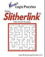 Brainy's Logic Puzzles Easy Slitherlink #1 200 10x10 Puzzles