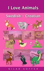 I Love Animals Swedish - Croatian