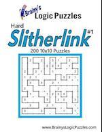 Brainy's Logic Puzzles Hard Slitherlink #1 200 10x10 Puzzles