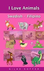 I Love Animals Swedish - Filipino