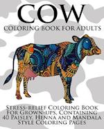 Cow Coloring Book for Adults