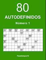 80 Autodefinidos - N. 1