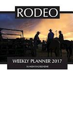Rodeo Weekly Planner 2017