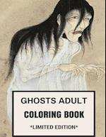 Ghosts Adult Coloring Book