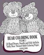 Bear Coloring Book Volume 2