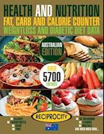 Health & Nutrition Fat, Carb & Calorie Counter, Weightloss & Diabetic Diet Data