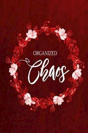 Bog, paperback Chalkboard Journal - Organized Chaos (Red) af Marissa Kent