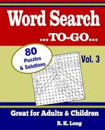 Word Search To-Go, Volume 3