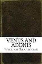Venus and Adonis af William Shakespear
