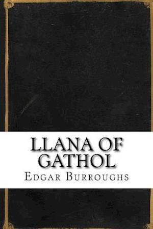 Bog, paperback Llana of Gathol af Edgar Rice Burroughs