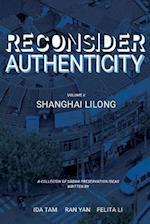 Reconsidering Authenticity Volume 2