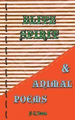 Blitz Spirit & Animal Poems