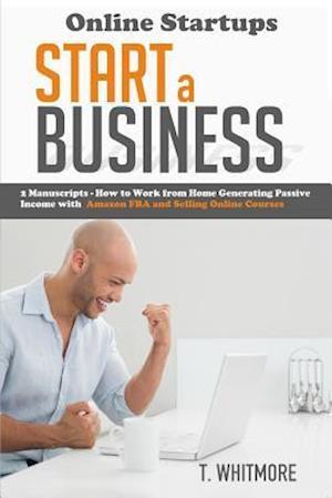 Bog, paperback Online Startups af T. Whitmore