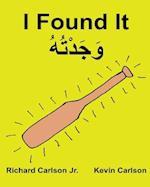 I Found It